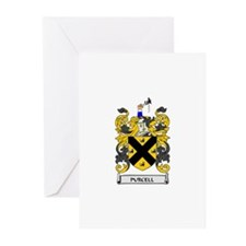 PURCELL Coat of Arms Greeting Cards (Pk of 10)