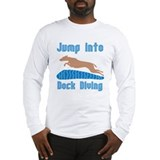 Jump Into Diving Dogs Long Sleeve T-Shirt