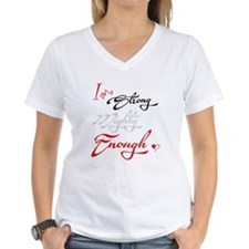 I Am Strong, Mighty, Enough Shirt