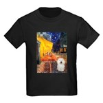Cafe & Bolognese Kids Dark T-Shirt
