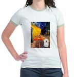 Cafe & Bolognese Jr. Ringer T-Shirt