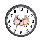 Little Piggy Clock