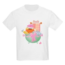 Duckie's Bathtime Kids T-Shirt