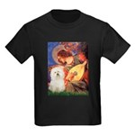 Mandolin Angel & Bolognese Kids Dark T-Shirt