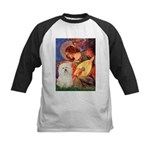 Mandolin Angel & Bolognese Kids Baseball Jersey