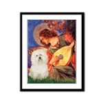 Mandolin Angel & Bolognese Framed Panel Print