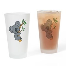 Funny Koalas Drinking Glass