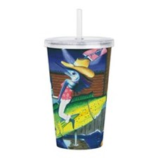 Trixie Rodeo Acrylic Double-Wall Tumbler