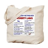 Labrador Retriever Property Laws 3 Tote Bag