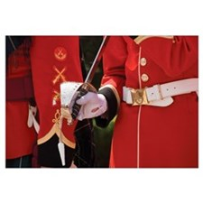 Graduate With Ceremonial Sabre, Royal Military Col
