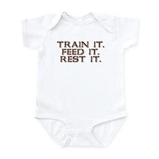 TRAIN FEED REST Infant Bodysuit