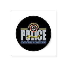 Police Supporter Sticker