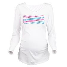 Bridesmaids Party Long Sleeve Maternity T-Shirt