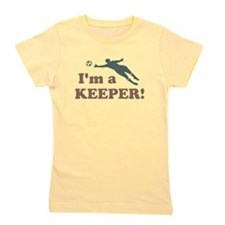 I'm a Keeper Soccer Goalie Girl's Tee