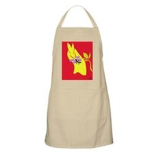 Bunny with sunset flower Apron