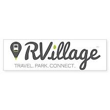 Rvillage Bumper Bumper Sticker