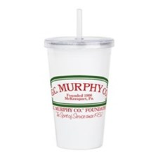 G.c. Murphy Co. 1980s Acrylic Double-Wall Tumbler