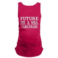 Future Mr. and Mrs. Personalize Maternity Tank Top
