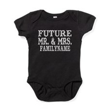 Future Mr. and Mrs. Personalized Baby Bodysuit