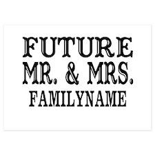 Future Mr. and Mrs. Personalized Invitations