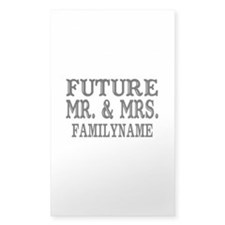 Future Mr. and Mrs. Personaliz Decal