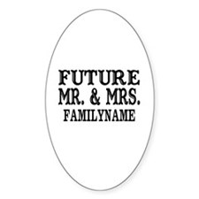 Future Mr. and Mrs. Personalized Decal