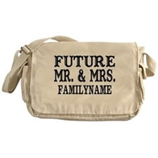 Future Mr. and Mrs. Personalized Messenger Bag