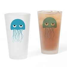 Unique Jellyfish Drinking Glass