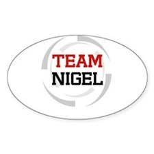 Nigel Oval Decal