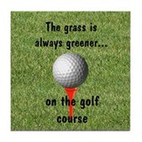 Golf lover Tile Coaster