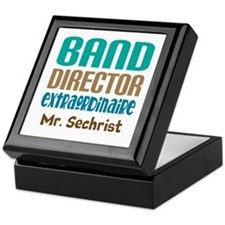 Band Director Extraodinaire Keepsake Box