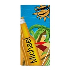 Beach And Beer Beach Towel