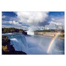 The American Falls, Niagara Falls, New York USA Wi