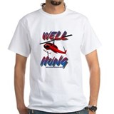 Well Hung Helicopter Snorkel T-Shirt