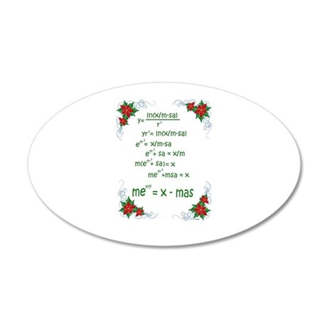 Christmas Math Wall Decal