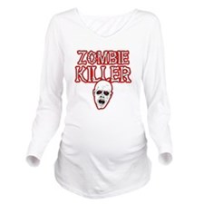 Cute Zombies Long Sleeve Maternity T-Shirt