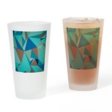 Cute Geometric Drinking Glass