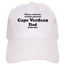 Baseball Cape Verdean dad looks like Baseball Cap