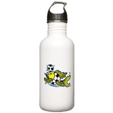 Football Fish Soccer Water Bottle