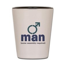 T-Man Assembly Shot Glass
