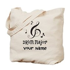 Drum Major Marching Band Tote Bag