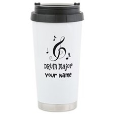 Drum Major Marching Band Travel Mug
