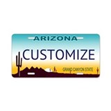 Arizona state License Plates
