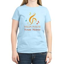 Personalized Drum Major Band T-Shirt