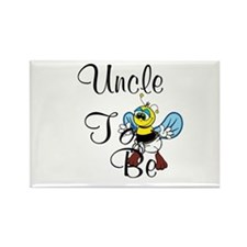 Playful Uncle To Bee Magnets