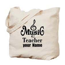Music Teacher personalized Tote Bag
