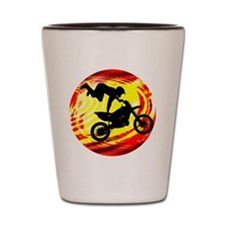 Cute Dirtbike Shot Glass