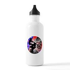 Funny Motorcycle racing Water Bottle