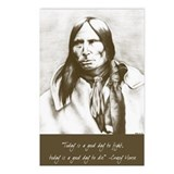 Cute American indian horse Postcards (Package of 8)