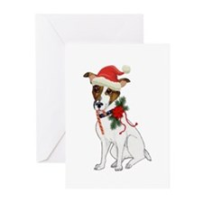 Jack Russell Christmas Greeting Cards (Pk of 10)